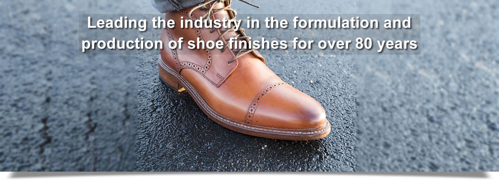 Prime Leather Finishes has been leading the industry in the formulation and production of shoe finishes for over 80 years
